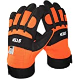 Stein Forestry Protective Chainsaw Gloves With Left Hand Protection (Size 10)
