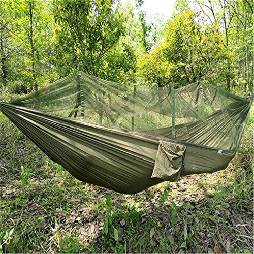 Top aus fallschirmmaterial Camping Hängematte mit Moskitonetz - 8