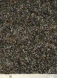 Nadelfilz-Teppich in der Farbe grau-braun | Nadelvlies-Auslegeware in der Breite 2m x Länge 3,0m | Filz-Bodenbelag als Meterware erhältlich | robust & rutschfest, Beanspruchungsklasse (BK33)