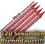 8 Eisfontänen/ Zaubersterne Brenndauer 120 Sekunden