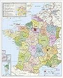 Frankreich Postleitzahlenkarte - Stiefel Eurocart GmbH