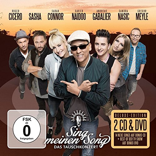 Various: Sing Meinen Song - Das Tauschkonzert (Deluxe Edition / 2 CDs + DVD) (Audio CD)