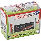 fischer - Duopower 5X25 S Diy/ (Caja Brico de 50 Uds), 535458