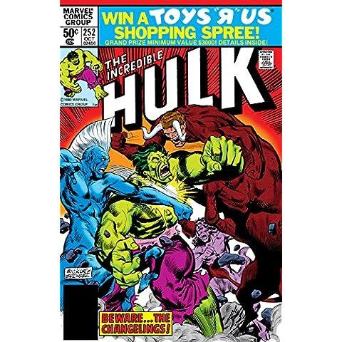 Incredible Hulk (1962-1999) #252