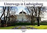 Unterwegs in Ludwigsburg (Wandkalender 2019 DIN A4 quer): Erleben Sie die Barockstadt mit ihren vielen Facetten! Fotografien von Nicola Furkert (Monatskalender, 14 Seiten ) (CALVENDO Orte)