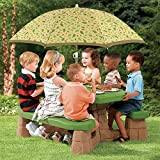 Step2mesa de picnic con paraguas