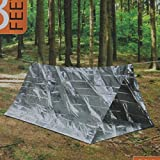 Best Survival Shelter - Emergency Shelter Reflective Tent 2 Person Camping Survival Review