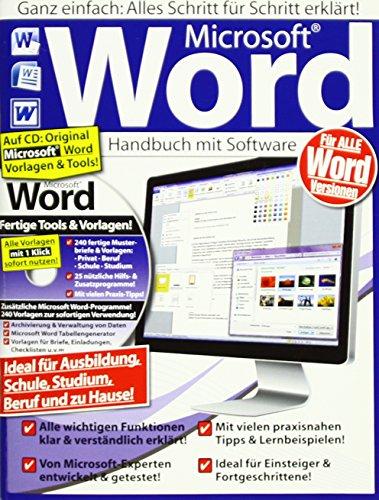 Microsoft Word Handbuch inkl. Lernsoftware