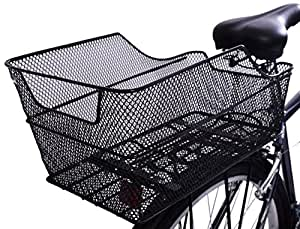 LARGE REAR STEEL MESH WIRE FIXED MOUNTED CARRIER RACK