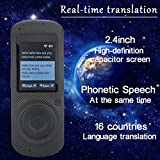 Best Electronic Translators - samLIKE 16 Languages Translator Device With Voice,2.4 Inch Review