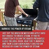 Neueste BBQ Grillbürste - Lebenslange Ersatzgarantie - Best bewertete Grill bürste - Zubehör für den Grill oder den BBQ - Reinigungsbürste mit Edelstahlborsten, ideal für Barbecue, Gasgrill Elektrogrill - 6