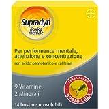 Supradyn Ricarica Mentale Integratore Alimentare Multivitaminico con Vitamina C, Vitamine B, Magnesio, Zinco, Caffeina…