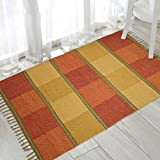 #2: The Home Talk multicolor cotton rug, 3x5 feet