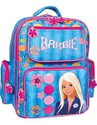 ERGONOMIC Barbie - Mochila escolar grande (38 x 26 x 21 cm), bolsa + botella, modelo 2013