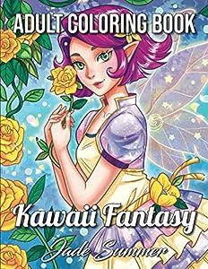 Kawaii Fantasy: An Adult Coloring