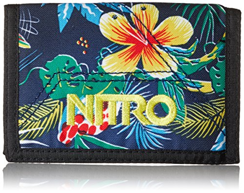 Nitro Wallet, Geldbörse, Geldbeutel, Portemonnaie, Münzbörse,  Paradise,  10 x 14 x 1 cm, 1131-878000_1942, 60g