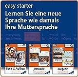 Linguajet Starterpaket, CD-ROM easy starter. Lernen Sie eine neu Sprache wie damals Ihre Muttersprache. Gehirn-gerecht Sprachen lernen, Computerkurs Linguajet, 5 Fremdsprachen zur Auswahl Bild