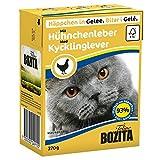 Bozita | Feline Häppchen in Gelee mit Hühnchenleber | 16 x 370 g