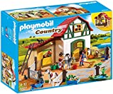 Playmobil 6927 Country Pony Farm with 2 Pony Stalls and Storage Loft