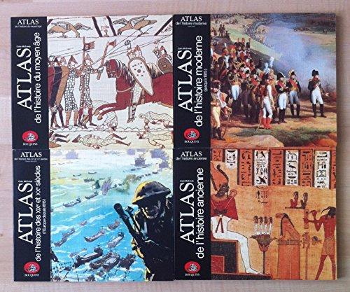 ATLAS COFFRET 4 VOLUMES par Colin McEvedy