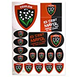 Planche adhésive rugby - Rugby Club Toulonnais - RCT