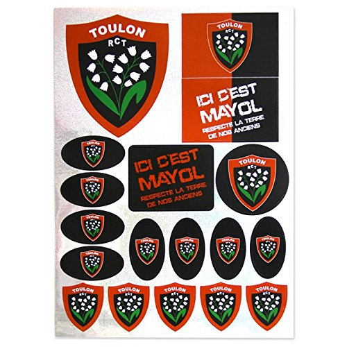 Chanclas Rugby – Rugby Club Toulonnais – RCT, Multicolor (multicolor), 36