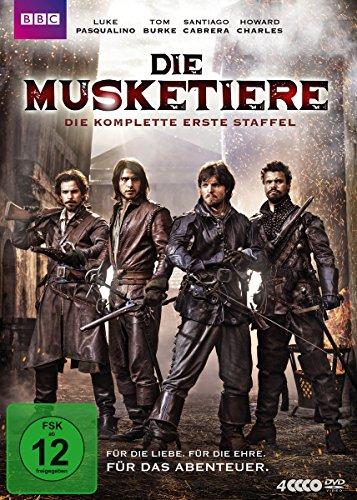 Die Musketiere - Die komplette erste Staffel [4 DVDs] (Howard Stern Kostüm)