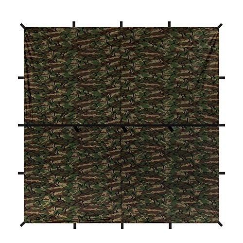 aqua-quest-defender-bache-carree-3-x-3-m-camo-abri-impermeable-et-robuste-en-nylon-parfait-pour-le-h