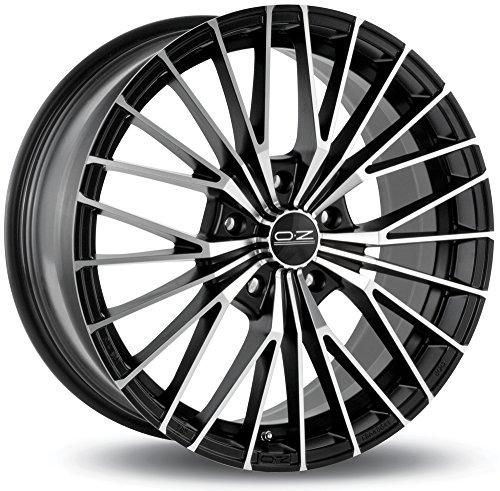 CERCHI-IN-LEGA-OZ-XLINE-EGO-MB-75x17-5x110-ET38-MATT-BLACK-DIAMOND-CUT