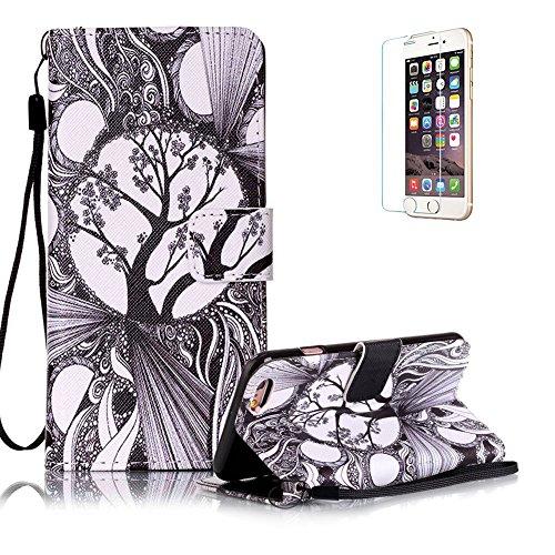 custodia-iphone-6-iphone-6s-in-pellefunyye-albero-fantasia-elegante-libro-portafoglio-cover-e-pellic