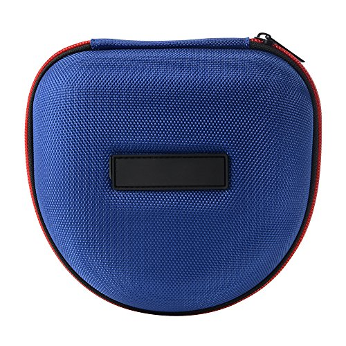 XCSOURCE® Hard Eva Kopfhörer Tasche Beutel Reisetasche (Blau) für Marshall Major I/Major II Bluetooth On-Ear Headset TH717