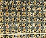 Jersey 50 cm Baumwolljersey Disney Mickey Maus Stoff Meterware