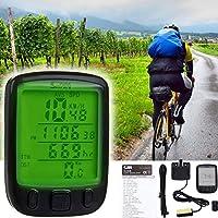 Fahrradcomputer - 27 Funktionen - Wasserdicht LCD Fahrradtacho - TOP Fahrrad viele Möglichkeiten