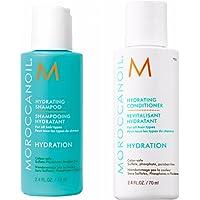 Moroccanoil, shampoo e balsamo idratanti, 70 ml, confezione viaggio