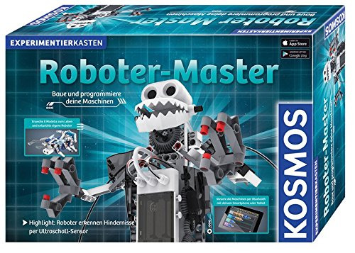 KOSMOS 620400 - Roboter-Master, Experimentierkasten