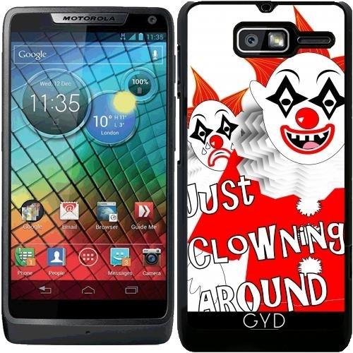 Hülle für Motorola RAZR D3 (XT919) - Angriff Der Beängstigende Clowns by Blingiton