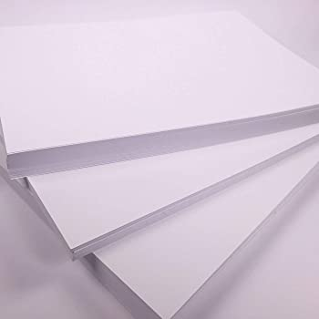 A4 White Craft Card Bright Cardstock For Crafting 300gsm Art Card