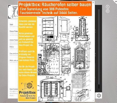 Räucherofen selber bauen: Deine Projektbox inkl. 386 Original-Patenten bringt Dich mit Spaß ans Ziel!