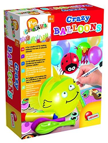 Lisciani 47697 - Crazy Balloons (Ballon-tiere Anleitung)