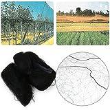 PUAK523 Vogelschutznetz, Teichabdeckungsnetz, Nylon, strapazierfähiges Netz, schützt Fische, Teiche und Koi vor Vögeln und Blättern, Garten Obst, Pflanze, Vogelschutz, 8m*3m, Free Size