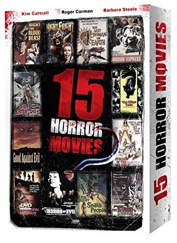 Preisvergleich Produktbild 15 Horror Movies - Volume 1: Die Sister Die!,  Good Against Evil,  Invasion of the Bee Girls,  The Last Woman on Earth,  Night of the Blood Beast,  Night Fright,  & She-Beast