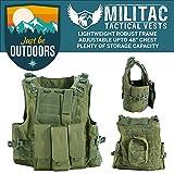 Militac Delta - Veste tactiqueGilet pour airsoft/paintball/combat/assaut avec poches...