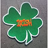 hotrodspirit - Patch Trefle 4 Feuilles Vert Irish ecusson irelande Biere