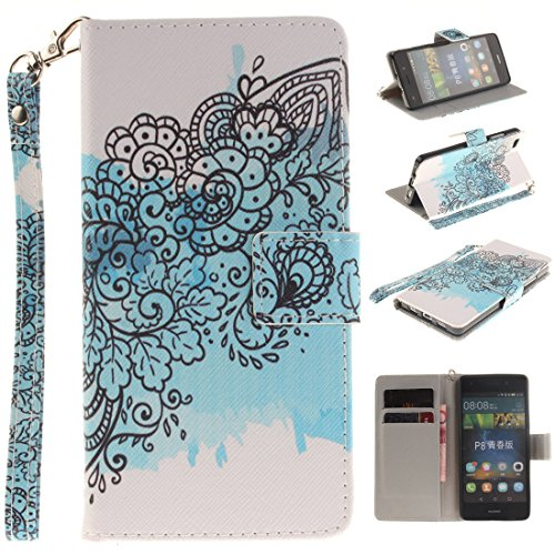 Nancen Compatible with Handyhülle Huawei P8 Lite Tasche mit Replacement for nancencen Huawei P8 Mini Handyhülle