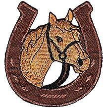 Bestellmich / Aufnäher - Parche de herradura de caballo para aplicar a la ropa
