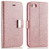 Best Cover Of Iphone 5 For Girls - For iPhone 5/5S/SE Case,L-FADNUT Premium Bling Glitter Flip Review