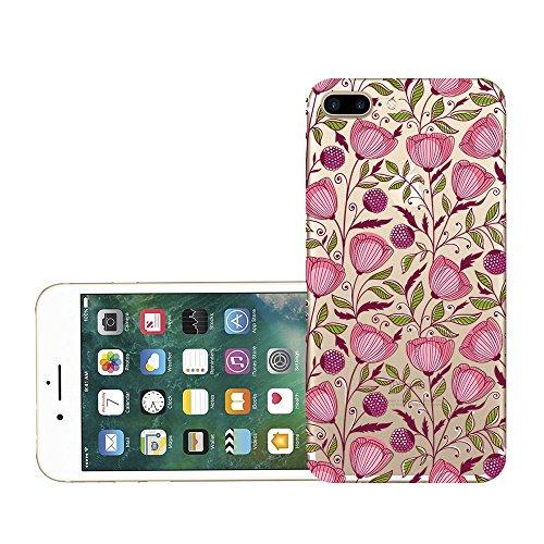 Custodia iPhone 7 plus Qissy® TPU Cover iPhone 7 Plus 5.5 pollici Custodia Bumper Morbida Crystal Clear Silicone elefante per Apple i Phone 7 Plus 8