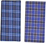 Indhirani Men's Cotton Lungi- Combo Of 2