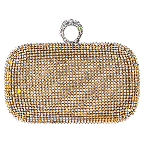 Bagood, Damen Clutch Gold