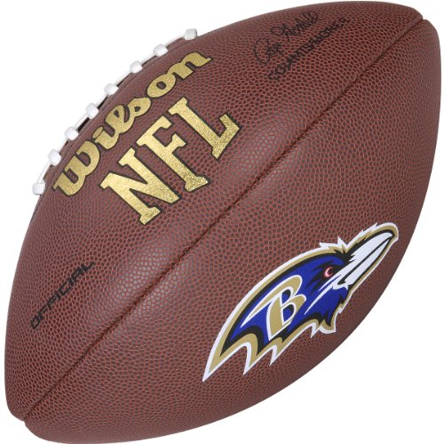 Wilson NFL Licensed Ball Official Team Full Size American Football Test